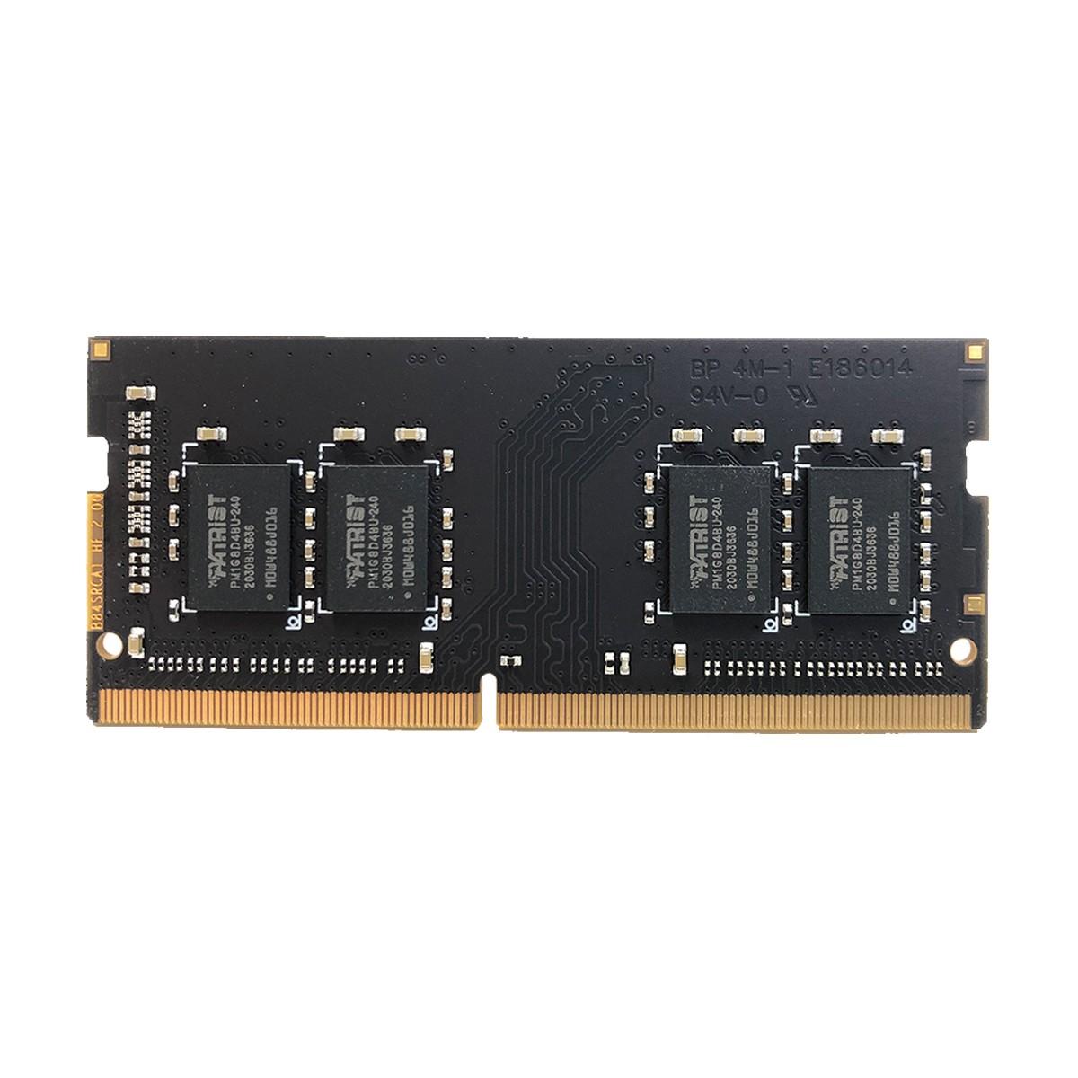 Memória para Notebook 8GB Patriot Signature Line DDR4 2400MHz CL17 -  PSD34G1600L2S