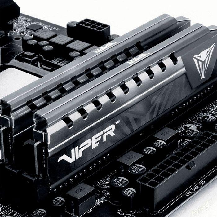 Memória Patriot Viper Elite 4GB DDR4 2666MHz CL16 PVE44G266C6GY