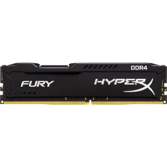 Memória Ram 8GB DDR4 2400mhz Kingston HyperX Black - HX424C15FB2/8