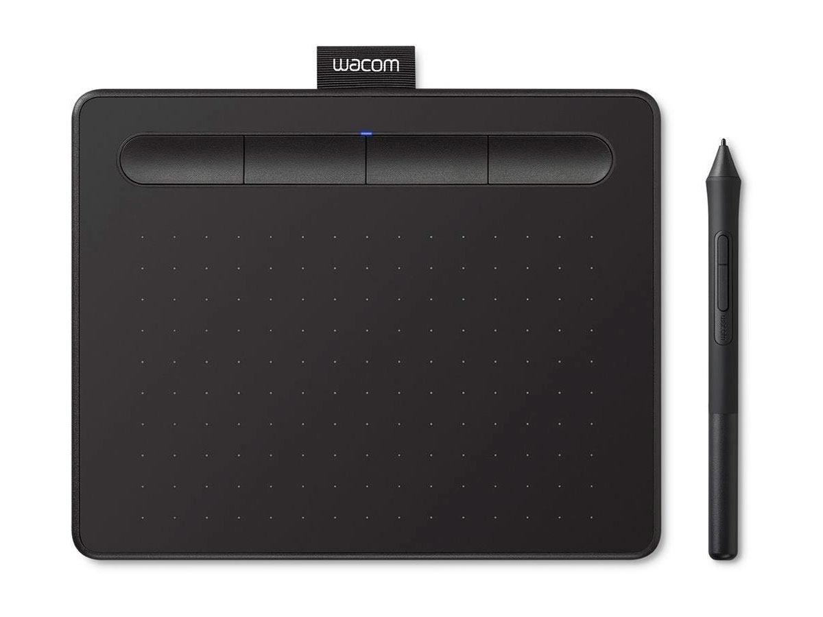 Mesa Digitalizadora Wacom Intuos CTL4100 Pequena, Preta