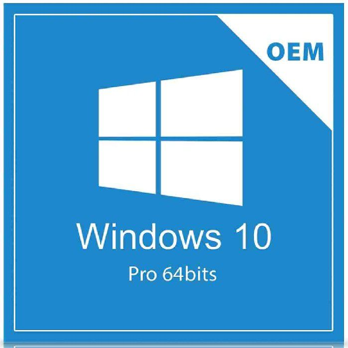 Microsoft Windows 10 Pro 64 Bits Português DVD FQC-08932 OEM
