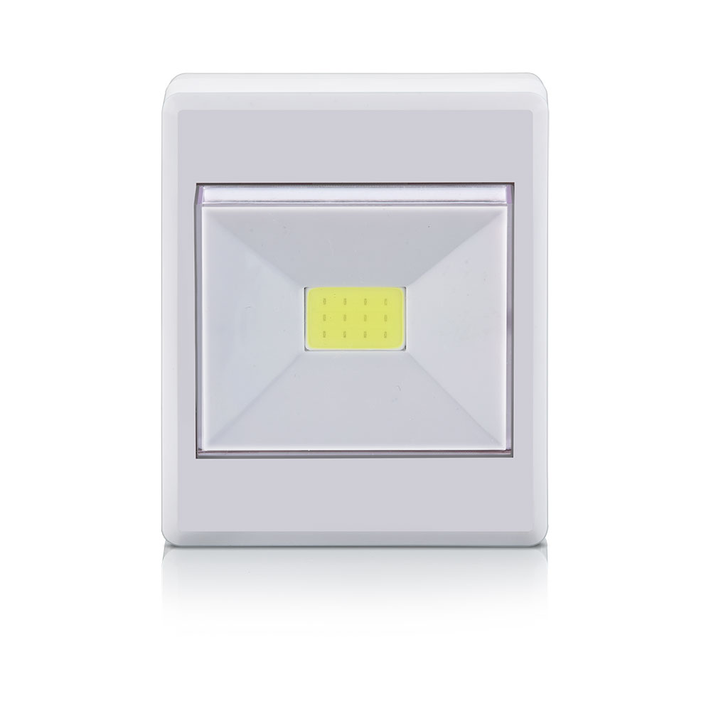 Mini Luminária Led Button, 3W 6500K, Elgin - Branca - 48LEDBOT0000