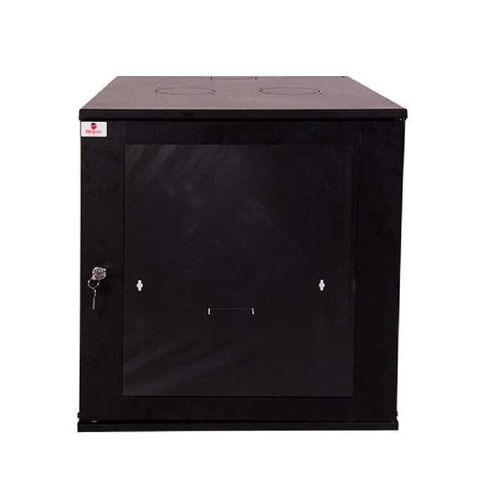 "Mni Rack Parede Hepso 19"" 12u x 570mm Preto"