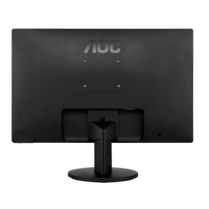 "Monitor AOC 15.6"" Widescreen, LED, HD (1366 x 768), VGA, Preto, Vesa - E1670SWU/WM"