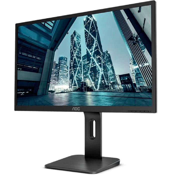 "Monitor AOC 22P1E 21.5"" LED Full HD 60Hz 2ms Ajuste de Altura VGA / HDMI / Display Port"