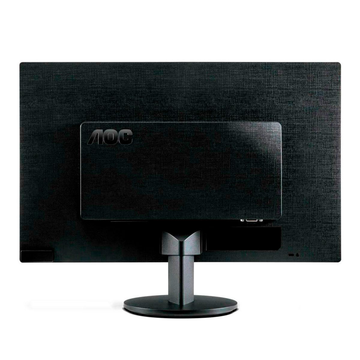 "Monitor AOC E970SWHNL 18,5"" LED HD, Widescreen, 60Hz, VGA e HDMI"