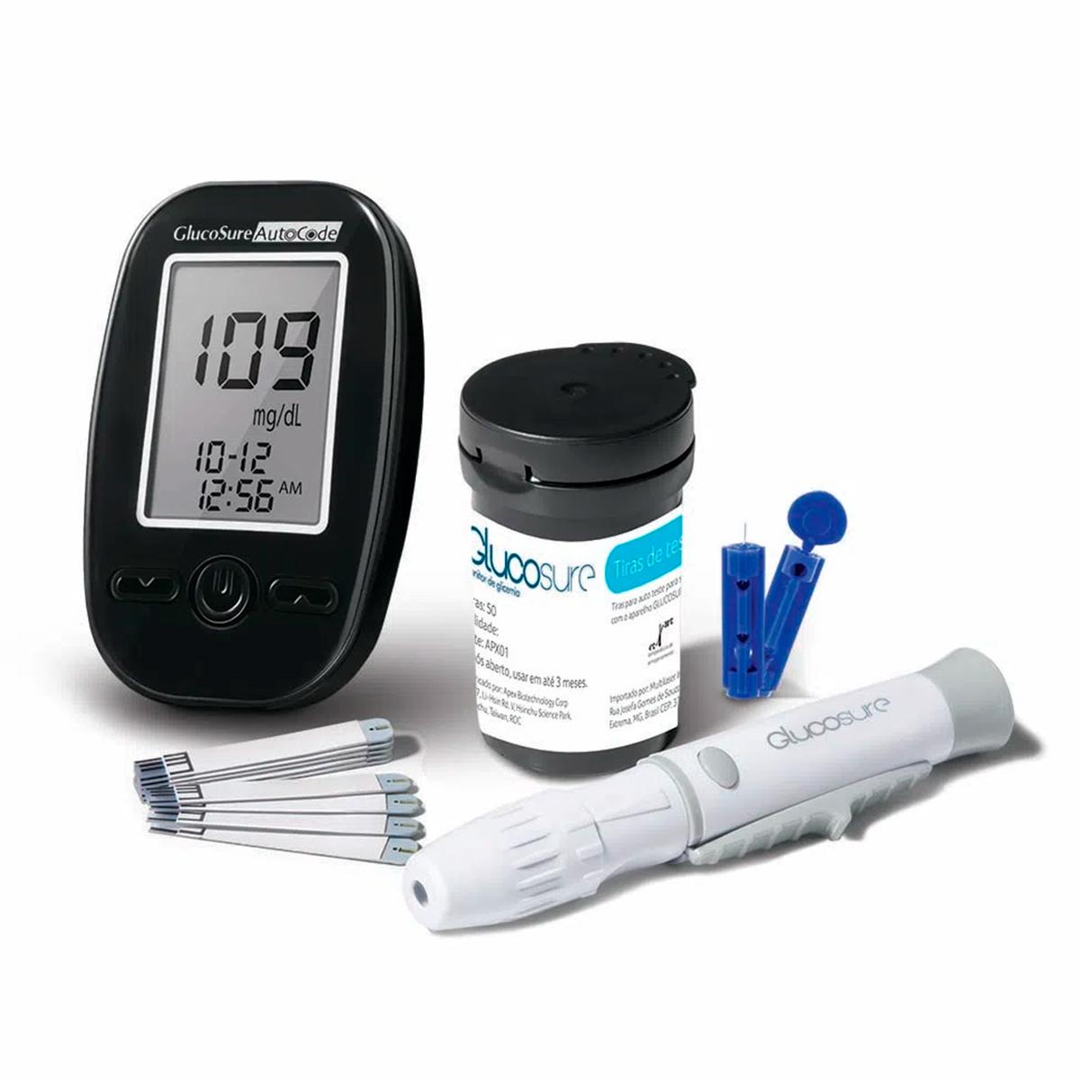 Monitor de Glicemia Glucosure Multilaser - HC129