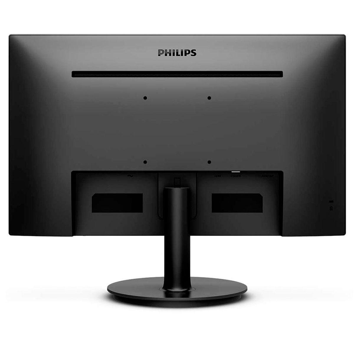 "Monitor Philips 221V8 21.5"", LED Full HD (1920 x 1080), Entradas HDMI e VGA, Bivolt, VESA"