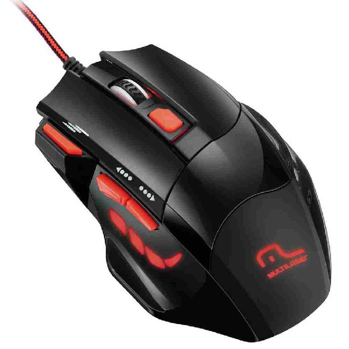 Mouse Gamer Firemouse Performance Mo236 Multilaser