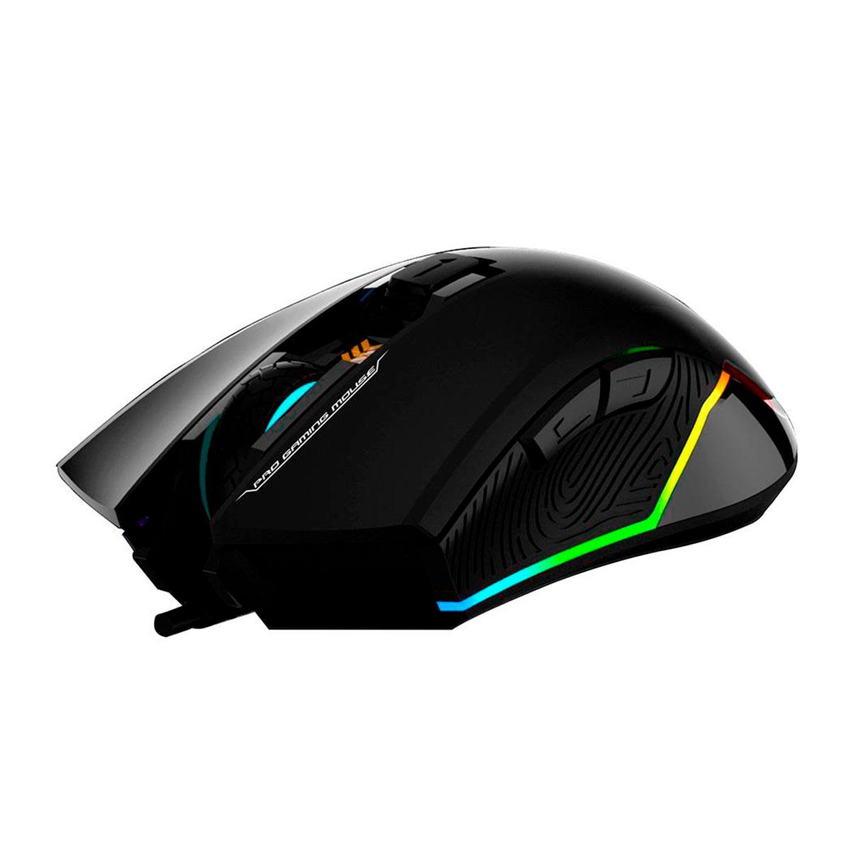 Mouse Gamer HP G360, USB, 6200DPI, LED, Preto