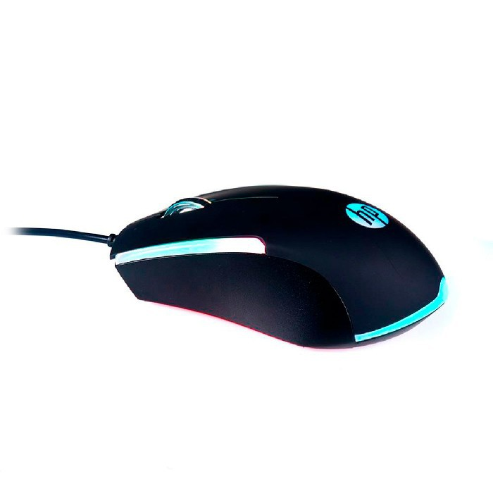 Mouse Gamer HP M160, USB, 1000 DPI, RGB, Preto