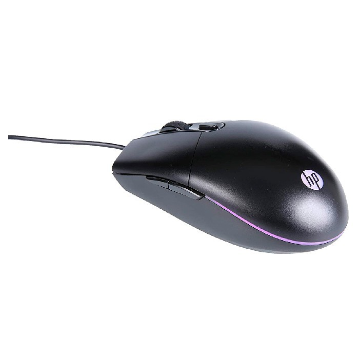 Mouse Gamer HP M260, USB, 6400DPI, LED RGB, 6 Botões, Preto