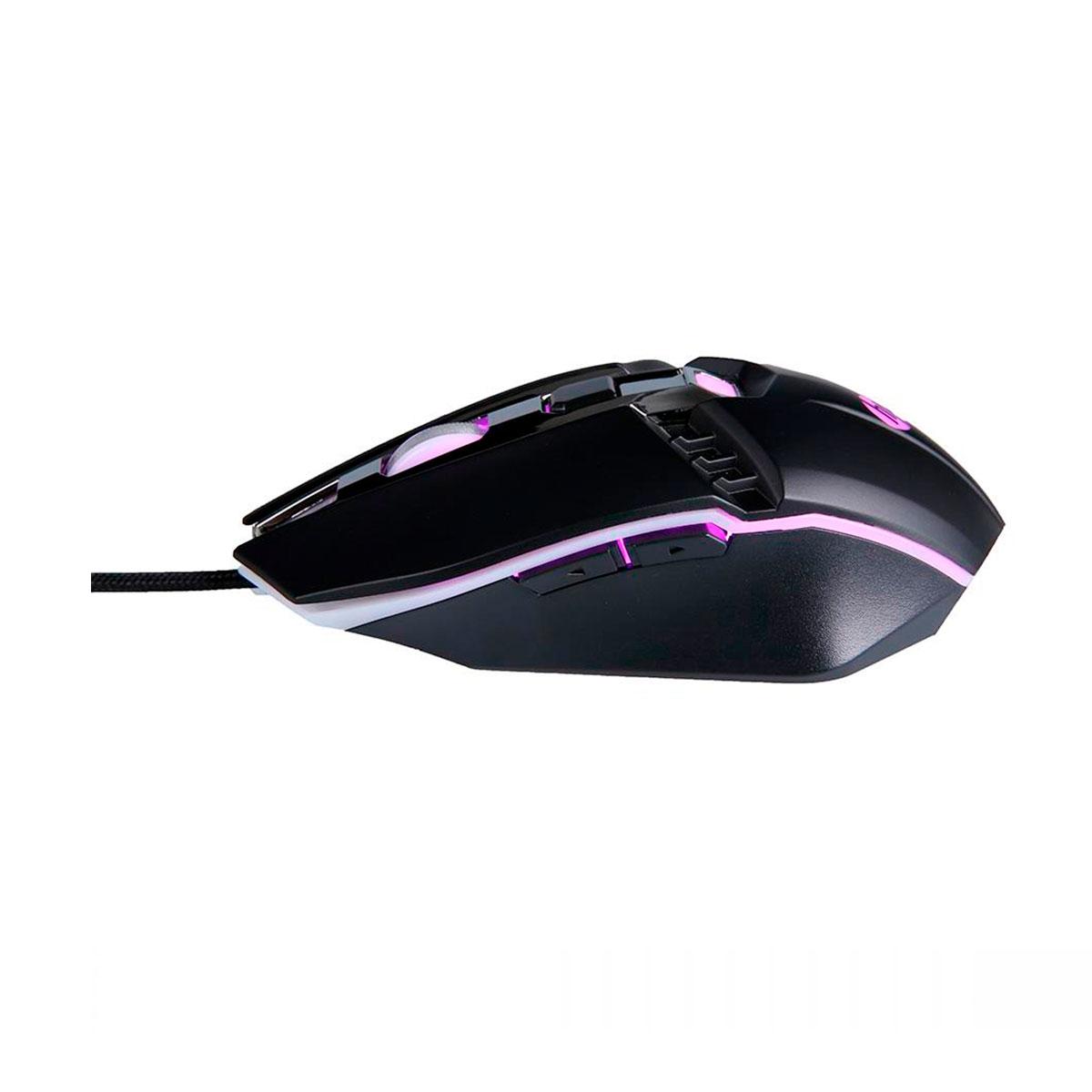 Mouse Gamer HP M270, USB, 2400DPI, LED, Preto