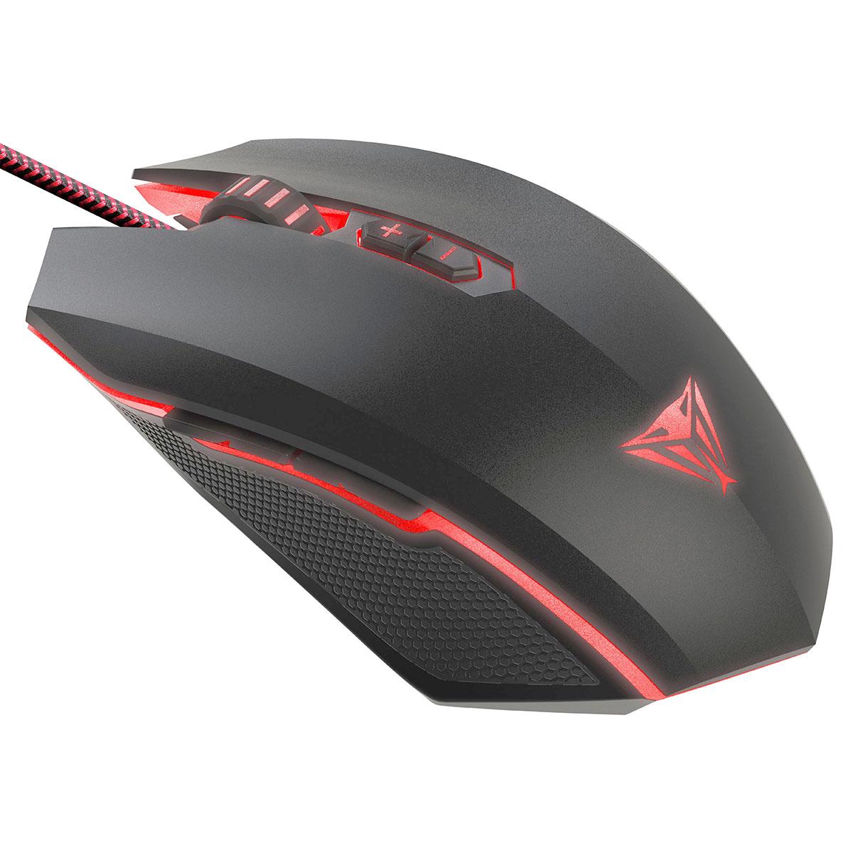 Mouse Gamer Patriot Viper V530, RGB, 4000 DPI, Teclas de Macro