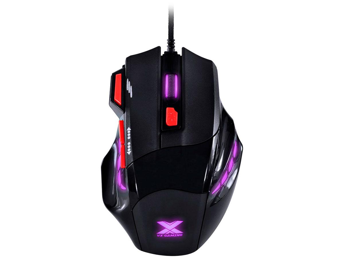 Mouse Gamer Vinik Black Widow 2400DPI Pt/Vm GM102 28428