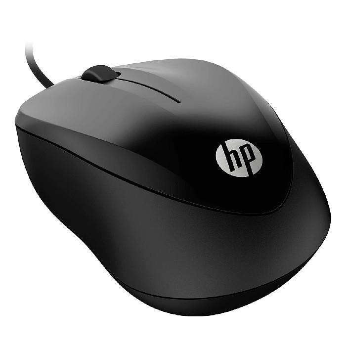 Mouse HP 1000 USB 1200DPI Preto
