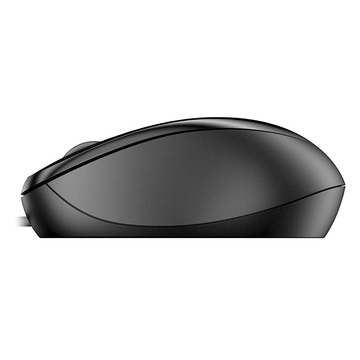 Mouse HP 1000, USB, 1200DPI, Preto