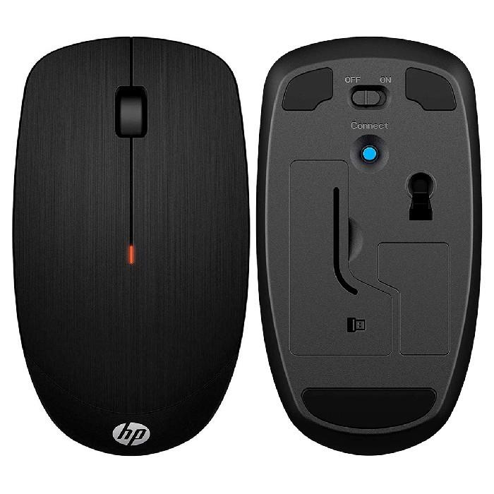 Mouse HP X200, Wireless, 1600DPI, Preto
