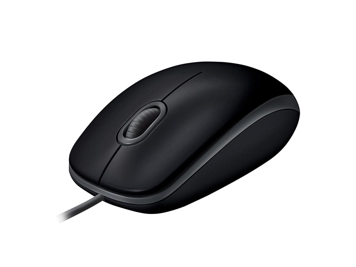 Mouse Logitech M110, USB, Preto