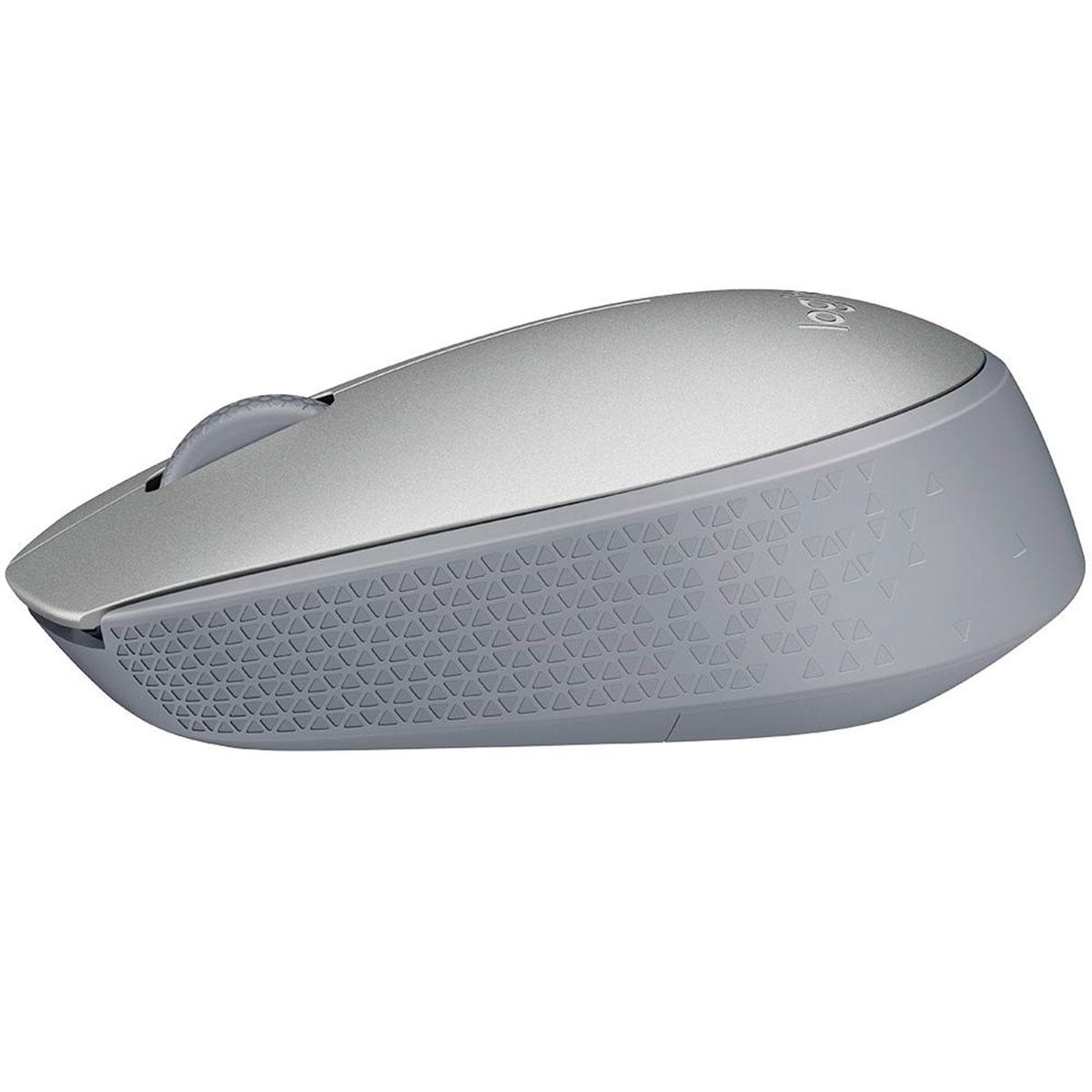 Mouse Logitech M170 Prata Wireless