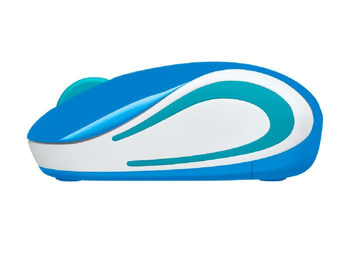 Mouse Logitech Wireless M187 Azul