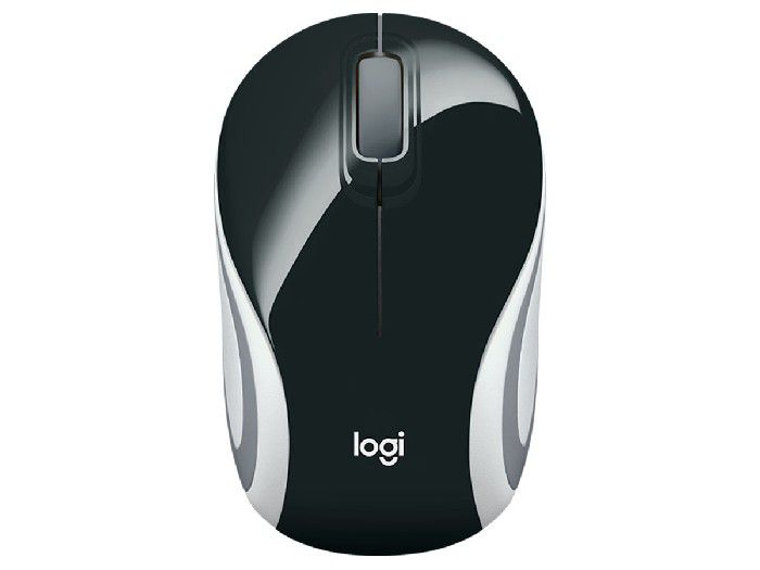 Mouse Logitech Wireless M187 Preto