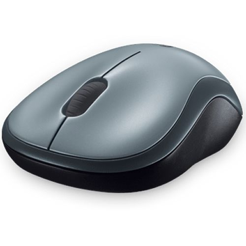 Mouse Óptico M185 Wireless Logitech Cinza e Preto