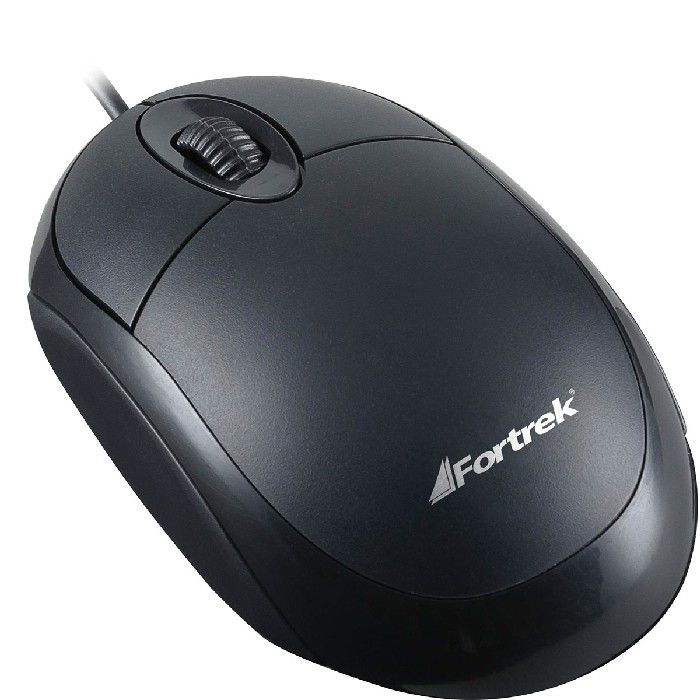 Mouse Fortrek OML-101, USB, 800 DPI, Preto - 62845