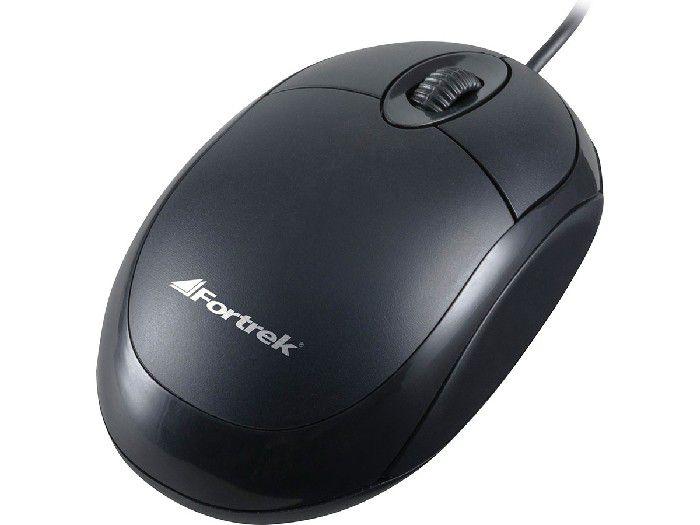 Mouse Optico Usb Fortrek OML-101 800dpi Pt 62845