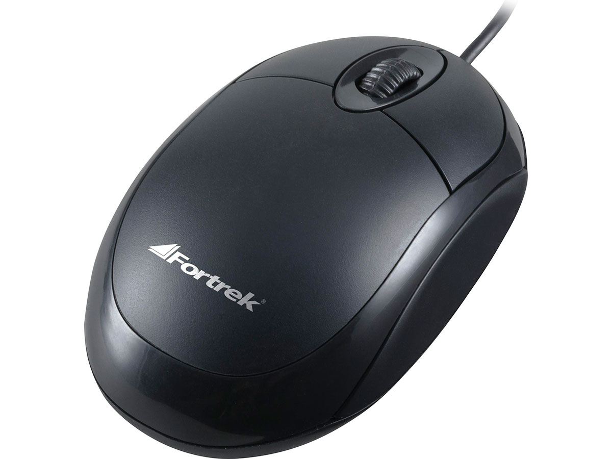 Mouse Optico Usb Fortrek OML-101 800dpi Pt 62845