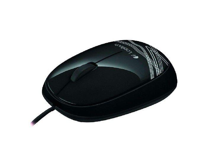 Mouse Óptico USB Logitech M105 Preto