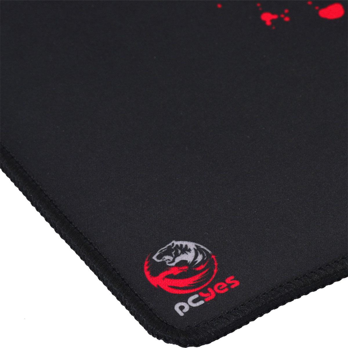 Mouse Pad Gamer PCYes Essential Splash, Antiderrapante, Estilo Speed, 360x300x3mm - 34680