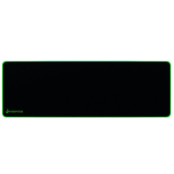 Mouse Pad Gamer Rise Mode Costura Verde Extra Grande RG-MP-06-ZG