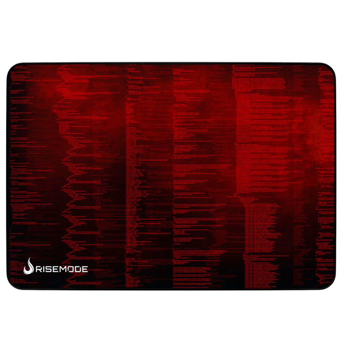 Mouse Pad Gamer Rise Mode Hacker Red - Médio Bc - RG-MP-04- HCKR