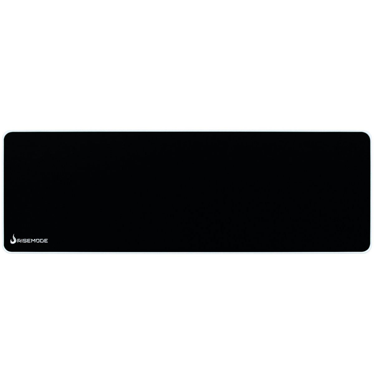 Mouse Pad Gamer Rise Mode Zero Costura Branca - Extended RG-MP-06-ZW