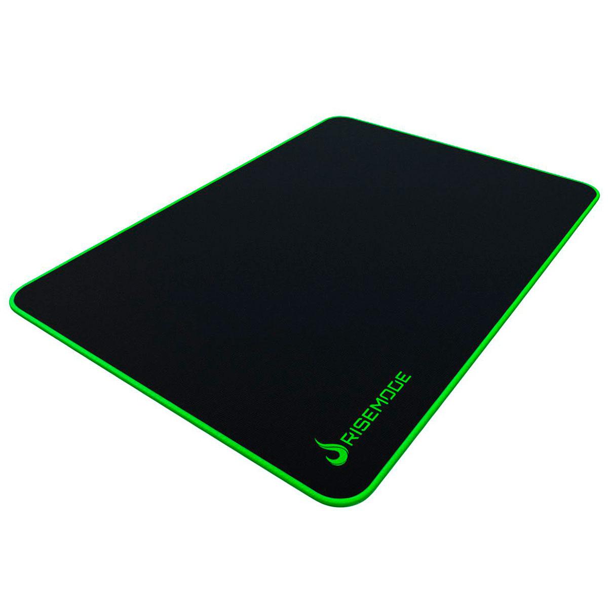 Mouse Pad Gamer Rise Mode Zero Costura Verde - Grande RG-MP-05-ZG