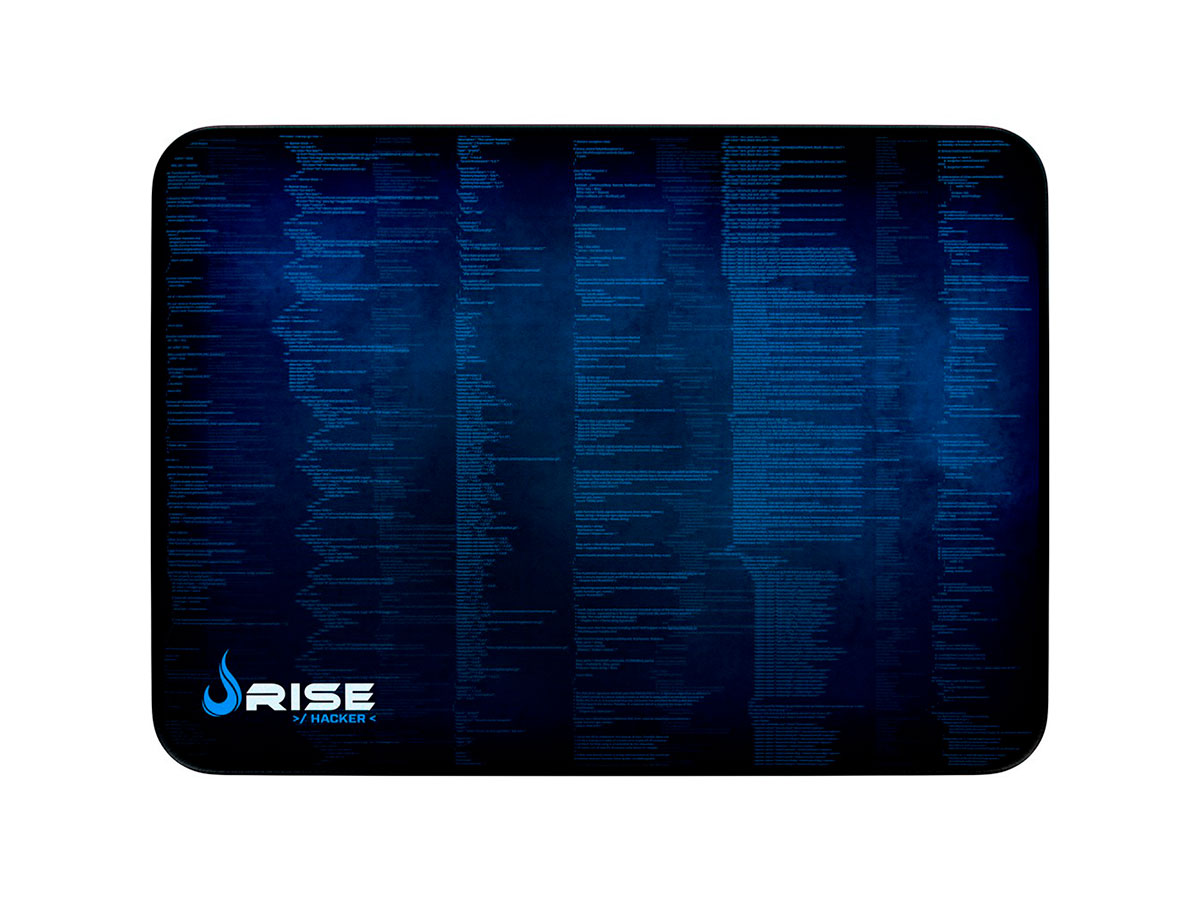 Mouse Pad Rise Mode Hacker - Médio Bc RG-MP-04-HCK
