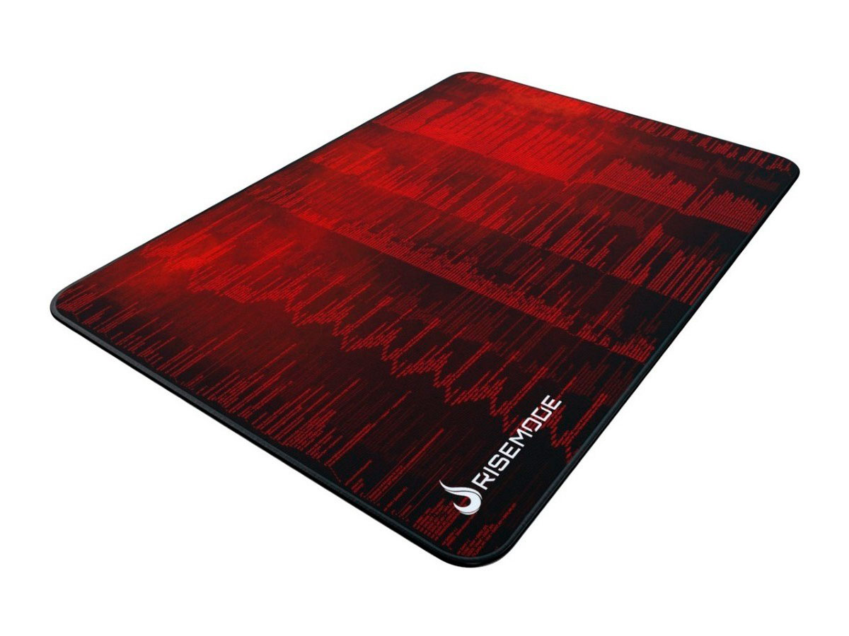 Mouse Pad Rise Mode Hacker Red - Grande Bc RG-MP-05-HCKR