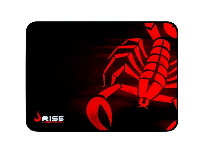 Mouse Pad Rise Mode Scorpion Red - Médio Bc RG-MP-04-SR