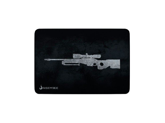 Mouse Pad Rise Mode Sniper Grey - Médio Bc RG-MP-04-SPG