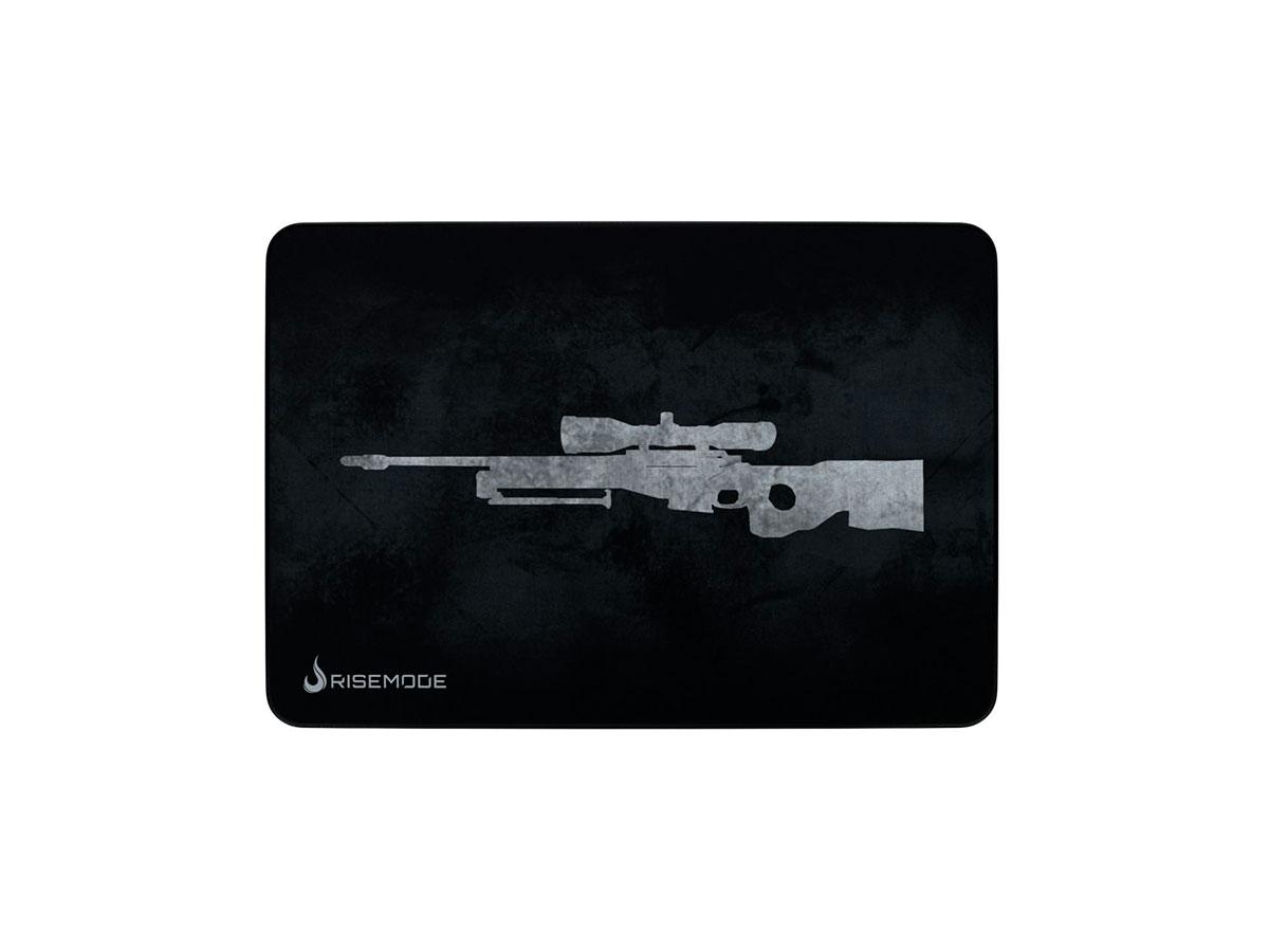 Mouse Pad Rise Mode Sniper Grey - Médio Bc RG-MP-04-SPG