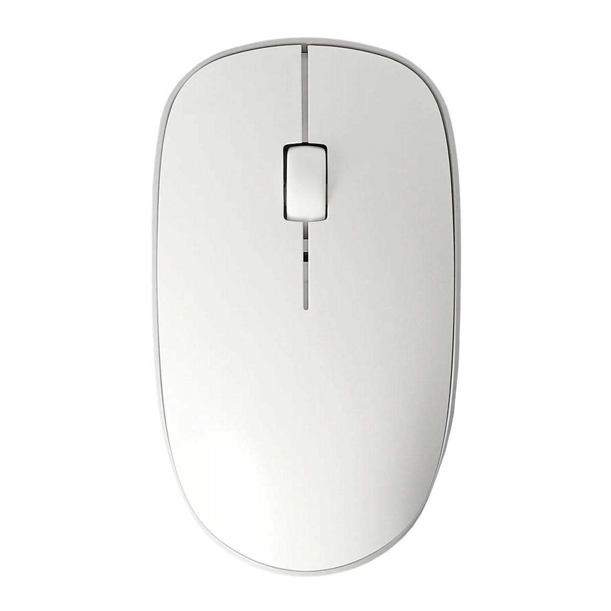 Mouse Rapoo M200 Silent, Wireless 2.4 GHz, Bluetooth, 1300 DPI, Clique Silencioso, Branco - RA012