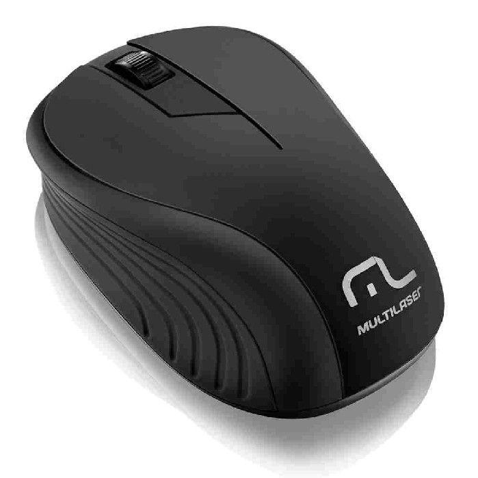 Mouse Sem Fio 2.4ghz Preto - MO212  Multilaser