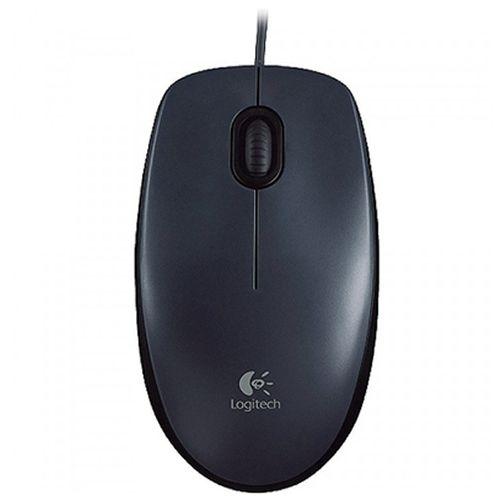 Mouse USB M90 Preto 910-004053 Logitech