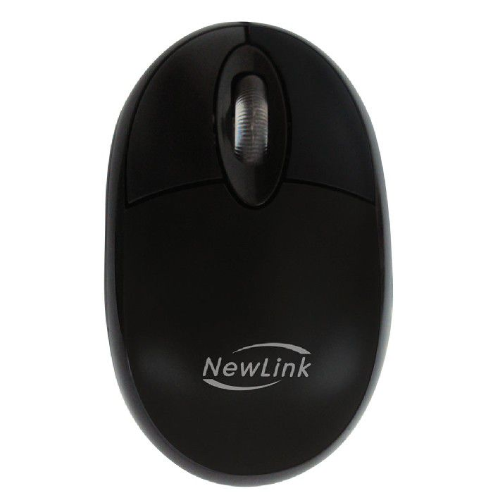 Mouse USB Newlink Fit MO303C Preto