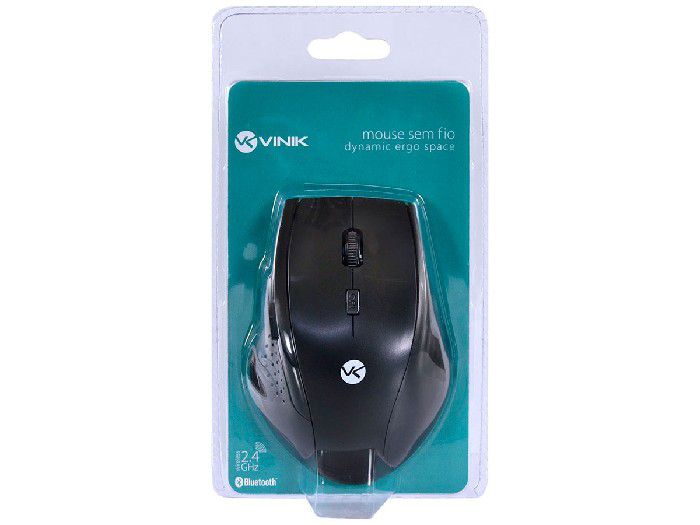Mouse Vinik Wireless Bt 1200 DPI Ergo Pt DM120 28420