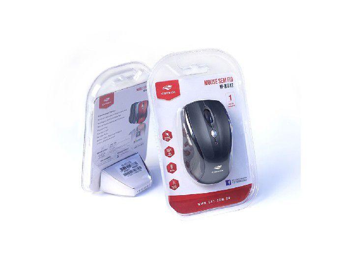Mouse Wireless C3Tech Rc/Nano M-W012BK