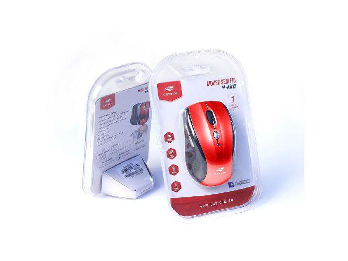 Mouse Wireless C3Tech RC/Nano M-W012RD