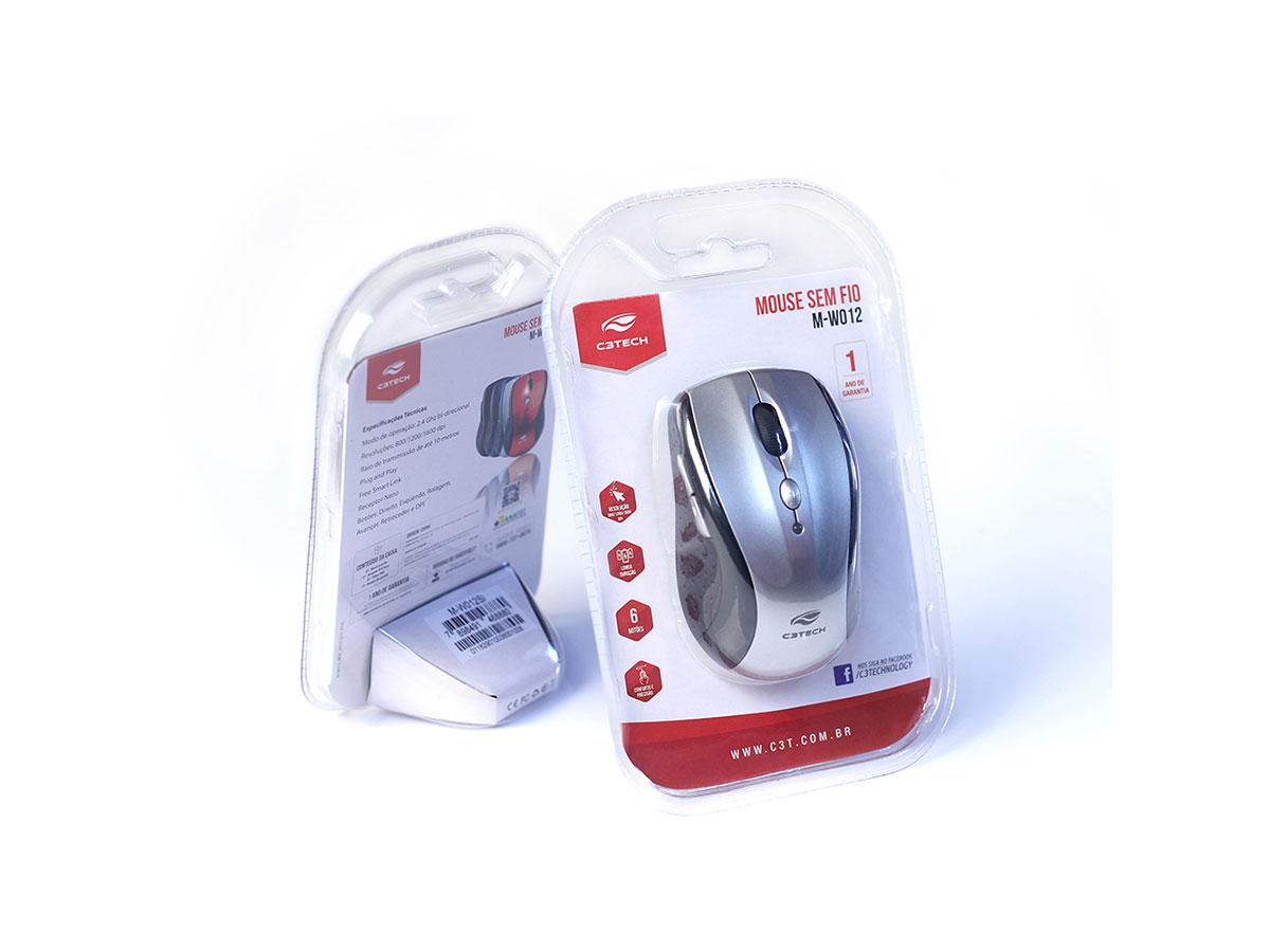 Mouse Wireless C3Tech RC/Nano M-W012SI