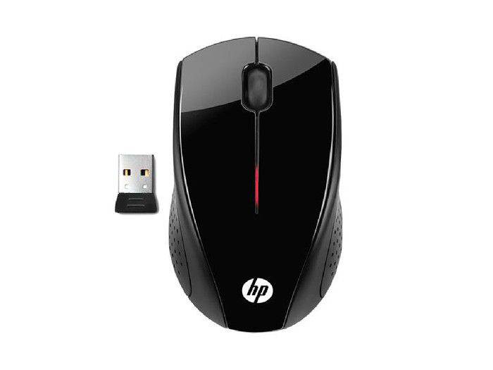 Mouse Wireless HP X3000 Preto